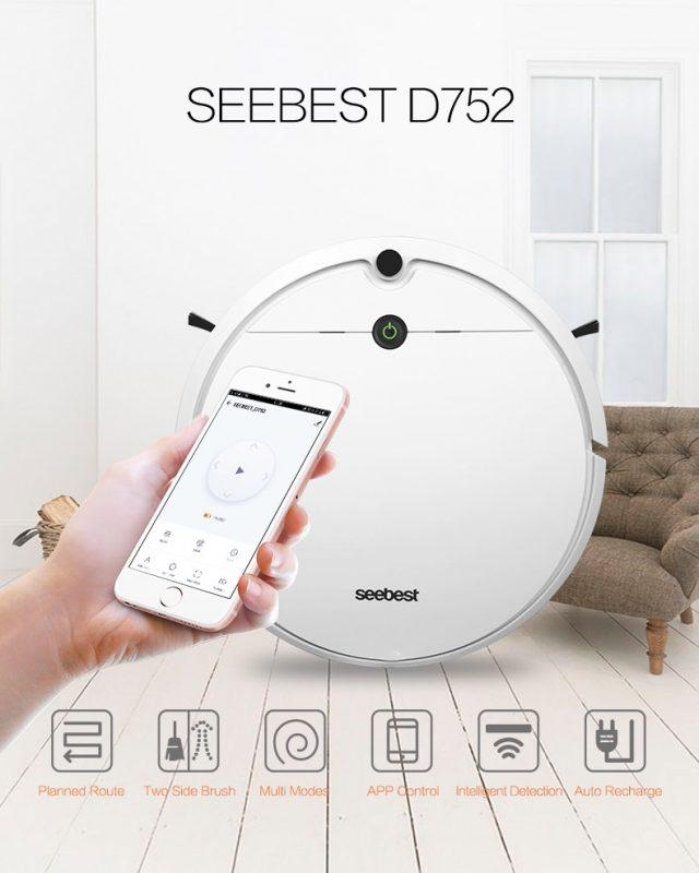 Robot hút bụi thông minh giúp bạn dọn dẹp nhà cửa